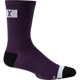 """Fox 6"""" Flexair Merino Socks Men, violeta"""